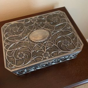 Jewelry Box - Silverplated